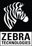 Zebra Technologies 10015770 8000T Vinyl Label, Thermal Transfer, 1'' Width x 2.25'' Length, 3'' Core, 8'' Outer Diameter, 2 Across, Clear