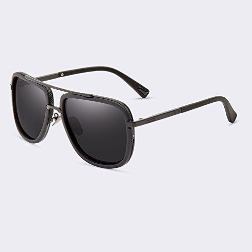 alta gafas de de hombres sol de lente C04Gray C02Gold TIANLIANG04 gafas tan lujo polarizadas masculinos calidad de AwqPBvR0