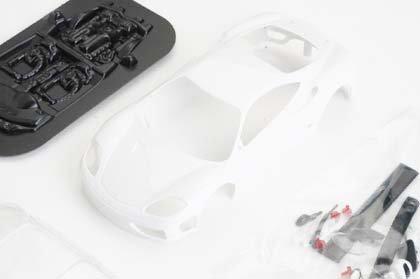 1/32 Ninco ProRace Slot Car Parts - Body Kits Plain White - Ferrari 360 GTC (80865)
