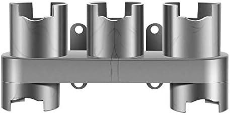 Henghx Aspiradora Accesorio Soporte de Montaje en Pared para Dyson V7 V8 V10 V11,Aspiradora Kit de Herramientas Accesorios Organizado(Gris): Amazon.es: Hogar