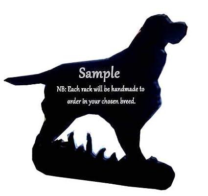 Shetland Sheepdog Sheltie Dog lovers Gift–portalettere–una qualità fatta a mano portalettere–Sagoma di cane razza portalettere in ferro battuto Quality Home Products