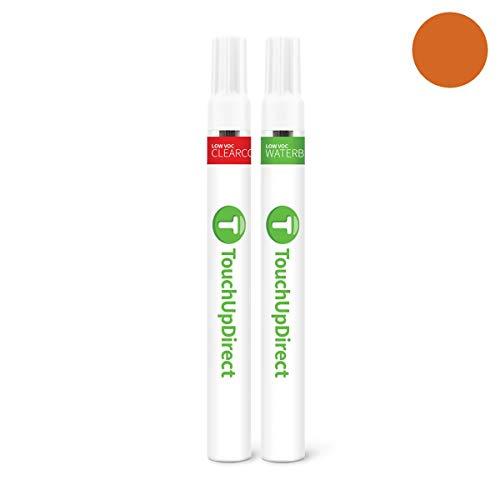 Sunburst Orange Metallic Paint - TouchUpDirect Exact Match Automotive Touch Up Paint Compatible with Dodge Sunburst Orange Metallic (PV6/DV6) Pen - Essential Package