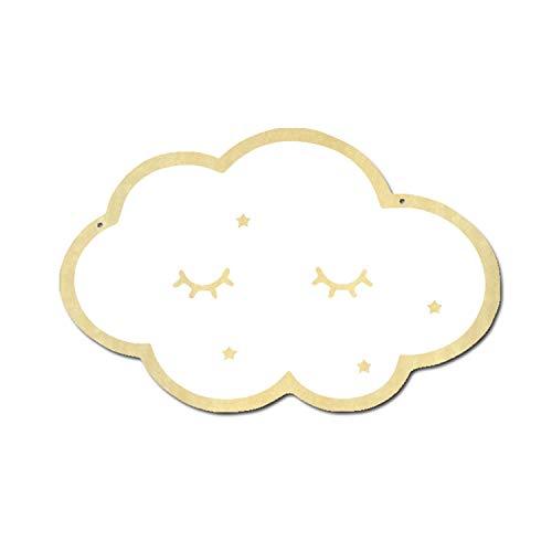 Gosear Niños encantadores de la Nube de Dibujos Animados de acrílico Espejos Decorativos para la habitación del bebé en...