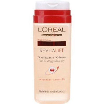 LOréal Revitalift - Leche desmaquillante con acción revitalizante de 200 ml + tónico facial con vitamina C de 200 ml (2 productos): Amazon.es: Belleza