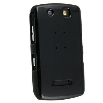 Hard Rubberized Case for Blackberry Storm 9500/9530 - Black -