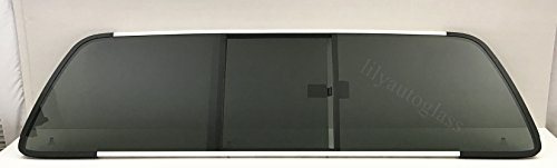 PPG Industries 1999-2007 Ford F250 F350 F450 F550 F650 F750 2&4 Door Super Duty Sliding Rear Back Window Glass Slider OEM W/Gasket