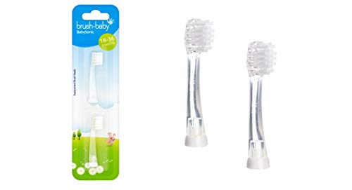 (Brush-Baby Babysonic Replacement Heads (18 to 36 Months) by)