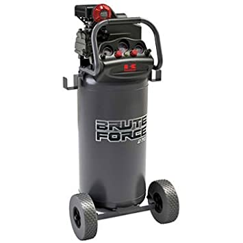 Air Compressor Kawasaki Brute Force 27-Gal.Tank, 2HP motor running
