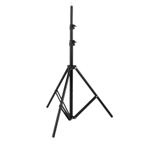 RPGT® Leuchtenstativ Studio-Lampenstativ Lichtstativ Lampenstativ 200cm 2M Studiolampen Stativ Blitze/Lampen
