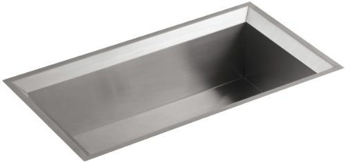 - KOHLER K-3387-NA Poise Undercounter Single-Basin Kitchen Sink