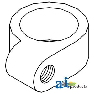 Collar Shift Transmission - A&I Products Collar, Transmission Shift Pivot Arm Replacement for Case-IH P...