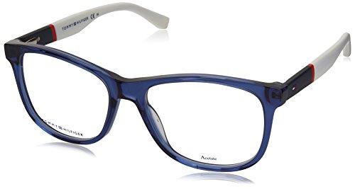 Optical frame Tommy Hilfiger Acetate Blue - White (TH 1406 - Glasses Hilfiger