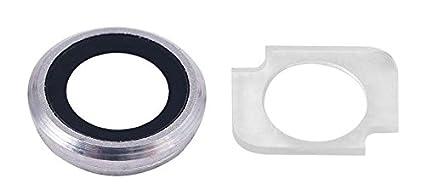Space Grey//Schwarz Tuch 2 x Schraubenzieher Klebepad Halterung MMOBIEL Linse R/ück Back Kamera Glas f/ür iPhone 6S 4.7 inch Glas Linse Ring Cover