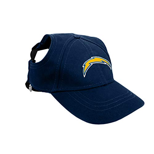 Littlearth NFL Los Angeles Chargers Pet Baseball Hat, Small