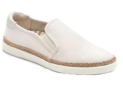 Vionic Sunny Rae- Womens Slip-On Espadrille Ivory - 8.5 Medium (Women Shoes Espadrille)