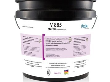 Forbo V 885 Adhesive (4 Gallon Pail) | iDECOR Recommends to use it with Eternal (Material, Wood), Eternal Step (Original, SR, Wood), Eternal Decibel, ColoRex SD/EC Tile (Non-ESD Applications) -