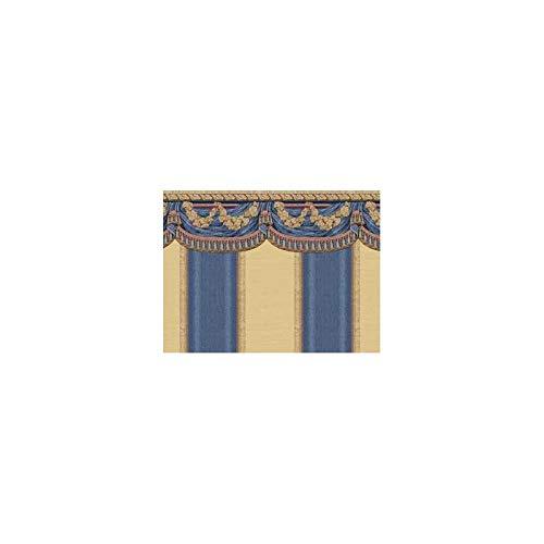 (Dollhouse Miniature 3 Pack Wallpaper: Tara, Blue)