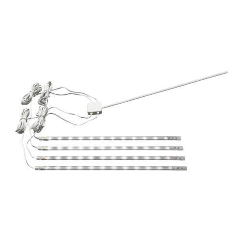 Ikea 201.194.18 Dioder LED Light Strip Set, White, 4-Piece by Ikea ()