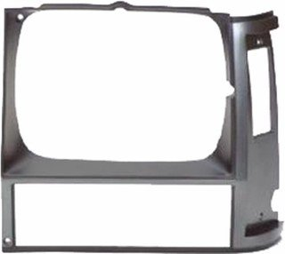 1987 Jeep Cherokee Grille (QP A0702-a Jeep Cherokee Charcoal Black Driver Headlight Door Grille)