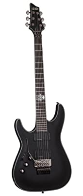 Schecter Blackjack Slim Line Series C-1 FR 6-String Electric Guitar, See-Thru Blue Burst, with Active Pickups