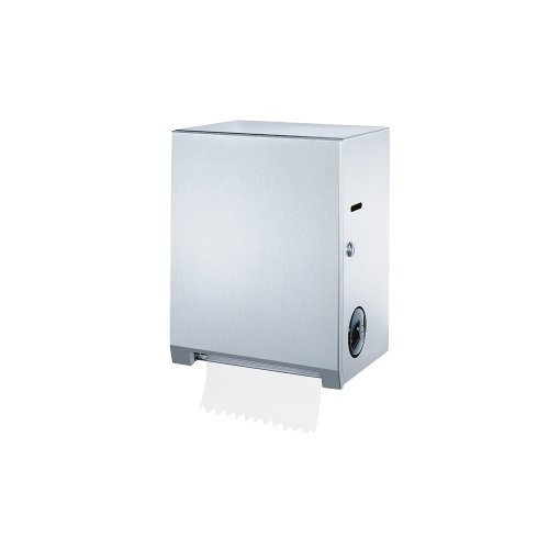 Bobrick B-2860 Surface-Mounted Roll Towel Dispenser, Satin by Bobrick