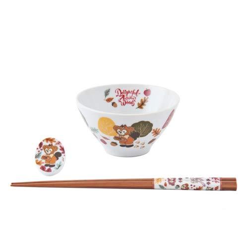 【도쿄 디즈니 씨 한정】 다피&프렌즈 그릇 세트 - 다피의 가을 모험 2019 디즈니 상품 선물