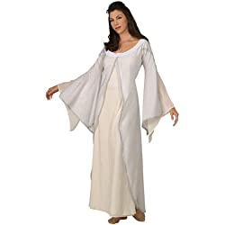 Rubie's Women's Lord of The Rings Deluxe White Arwen Costume Dress, As Shown, Standard