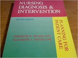Book Nursing Diagnosis and Intervention: Planning for Patient Care by Gertrude K. McFarland (1993-03-02)