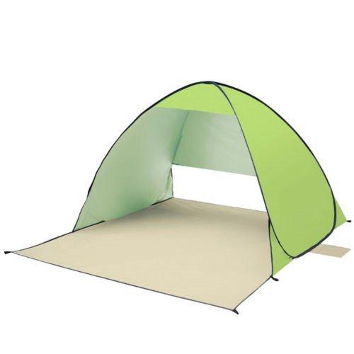 YOPEEN Portable Automatische Sonnenschutz Shelter Zelt Strand Camping Angeln Wandern, Grün