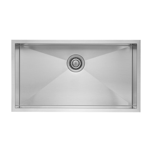 - Blanco 518172 Quatrus Super Single Bowl, 9.00 x 18.00 x 32.00 inches, stainless steel