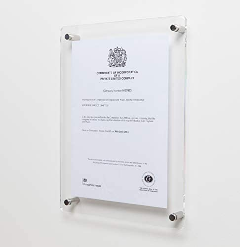 A4 Photo Frame Shell Poster Tabletop Certificate Digital Picture Frames