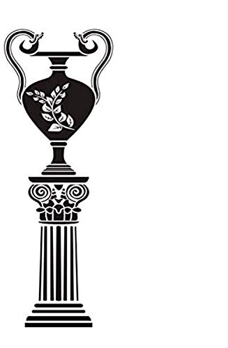 Antique Greek Vase Living Room Decoration Decoration Detachable DIY Home Decoration Waterproof Art Wall Decals Decor Vinyl Sticker -