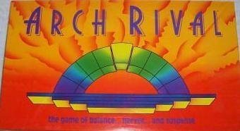 Arch Rival the Game of Balance by Parker Brothers