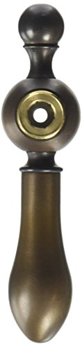 Hot Metal Screw Cover Cap - Rohl ZZ9503402V-TCB Arcana Classic Metal Lever Only with Hot Screw Cover Cap & M.4 X 40 Screw for All Cisal Faucets Except Pressure Balance & Ac27, Tuscan Brass