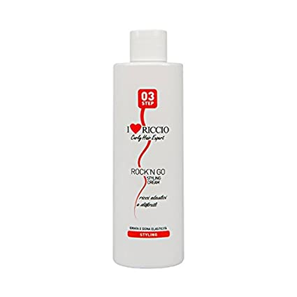 I love riccio Rock n Go Styling Cream crema elasticizzante per capelli  ricci definiti e 279d5a64b0e1