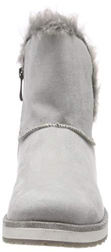 21 Femme Comb Bottes Tozzi Gris Marco amp; grey 221 Bottines 26452 Souples EqSgv0