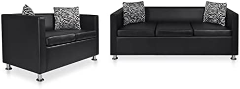 vidaXL Sofa Set 2-Seater and 3-Seater Couch Set...