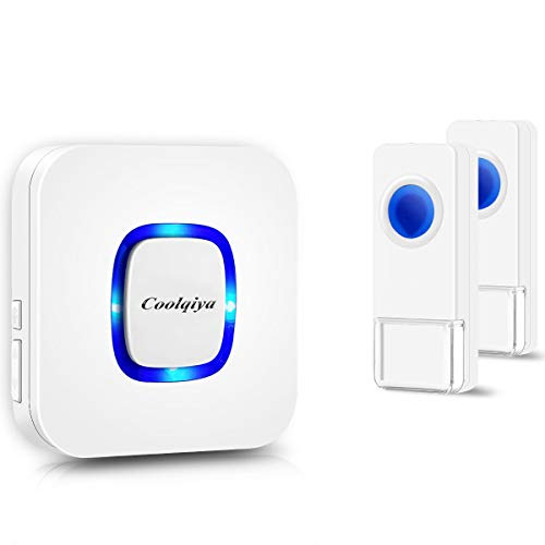 Coolqiya Wireless Doorbells Chimes