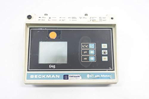 Beckman Ph Meter - BECKMAN PHI-31 123115 Battery Powered Portable PH Meter 9V-DC D652801
