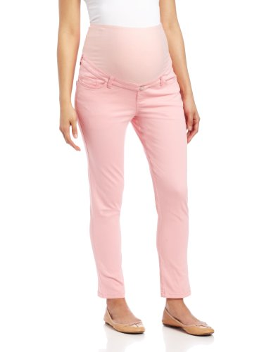 Pocket Maternity Crop Pants - 1