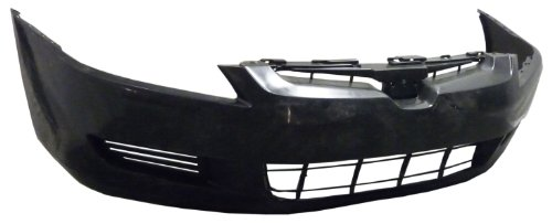 Honda Accord 03-05 Bumper Cover Front 4Cyl Coupe 2Dr Primed (Honda Accord 2dr Bumper)