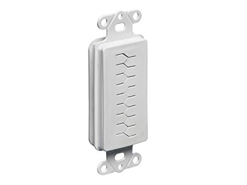 Monoprice Slotted Style Decora Insert for Home Theater and Cable Management