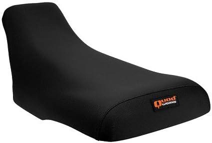 Black 88-06 YAMAHA BLASTER Quad Works Gripper Seat Cover