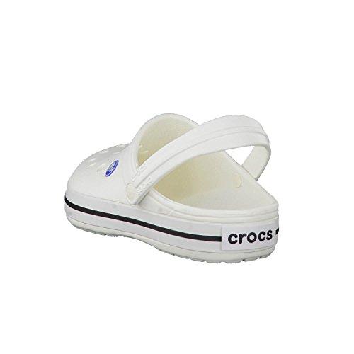 Crocs Unisex Crocband Sko, Hvit, M8w10