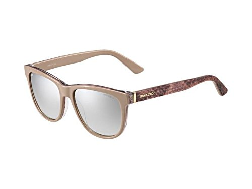 Jimmy Choo Women's Rebby/S Nude Python/Brown Gradient Mirror
