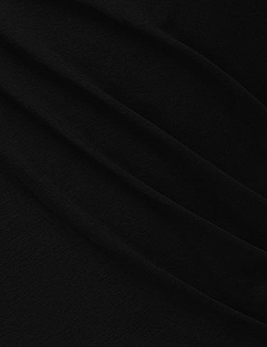 Dirette Messic Collo V Abiti Della Del Linea Blu Un Svasato Manicotto Abito Donne Protezione Delle Elegante Rosso Croce 4wYwqEX