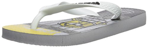 Havaianas Kid's Minions Sandal (Toddler/Little Kid),Ice Grey,23/24 BR (9 M US Toddler)
