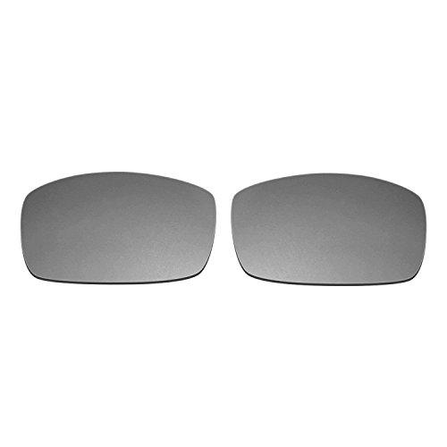 8f44866ff6 Hkuco Mens Replacement Lenses For Spy Optic Logan Sunglasses Titanium  Mirror Polarized
