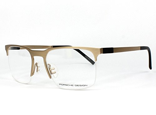 PORSCHE DESIGN P 8277 Eyeglasses Light Gold - Manufacturers Eyeglass Titanium Frames