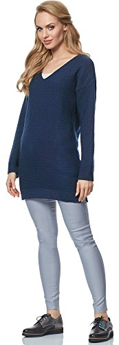 Merry Style Pullover para mujer MSSE0030 Navyazul